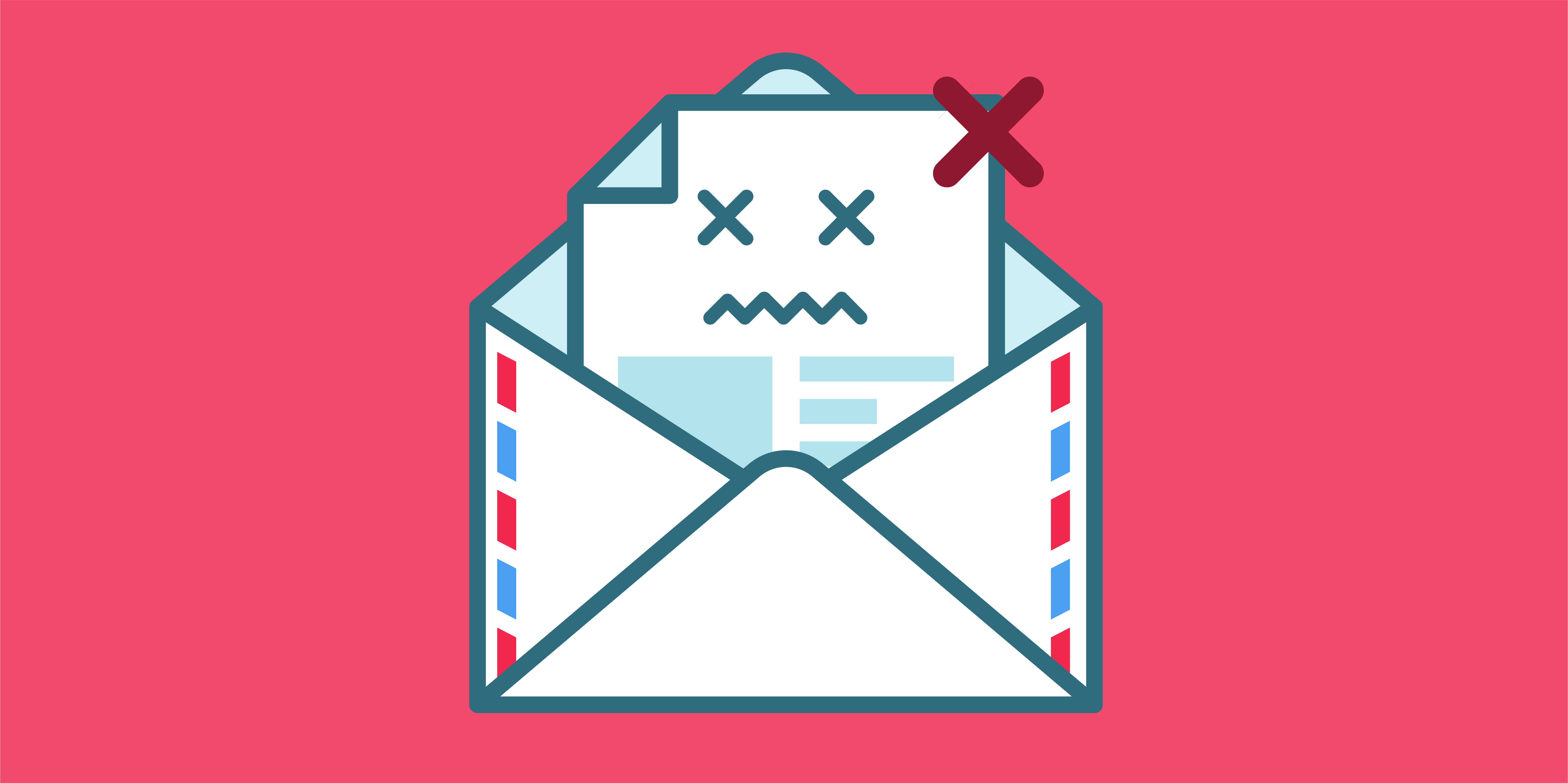 Managing bounced email illustration