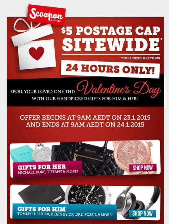 Love It Or Hate It Valentine S Day Is An Opportunity For Your Email