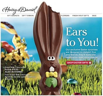 Eight eggcellent easter email examples vision6 create valuable easter themed content negle Image collections