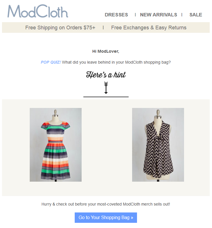 6 Awesome Email Examples - Email Inspiration!