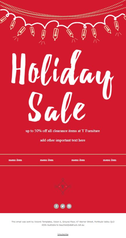 Top  Holiday Newsletter Templates