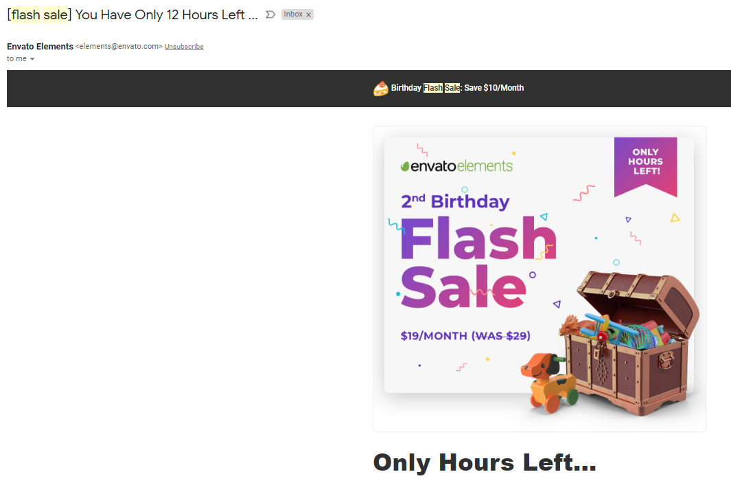 flash-sale-email-subject-line