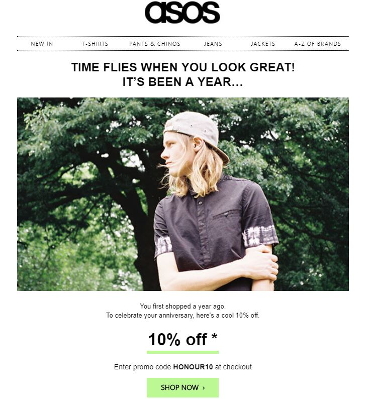 Anniversary-emails-example-from-asos