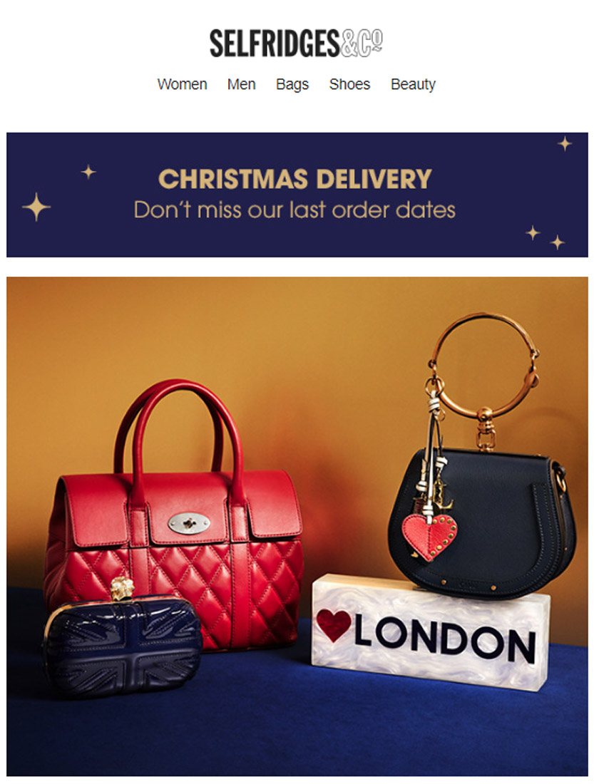 Christmas Email Marketing Campaign