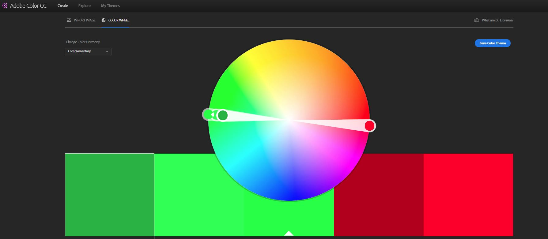 Free Image Editing Software Adobe Color Wheel