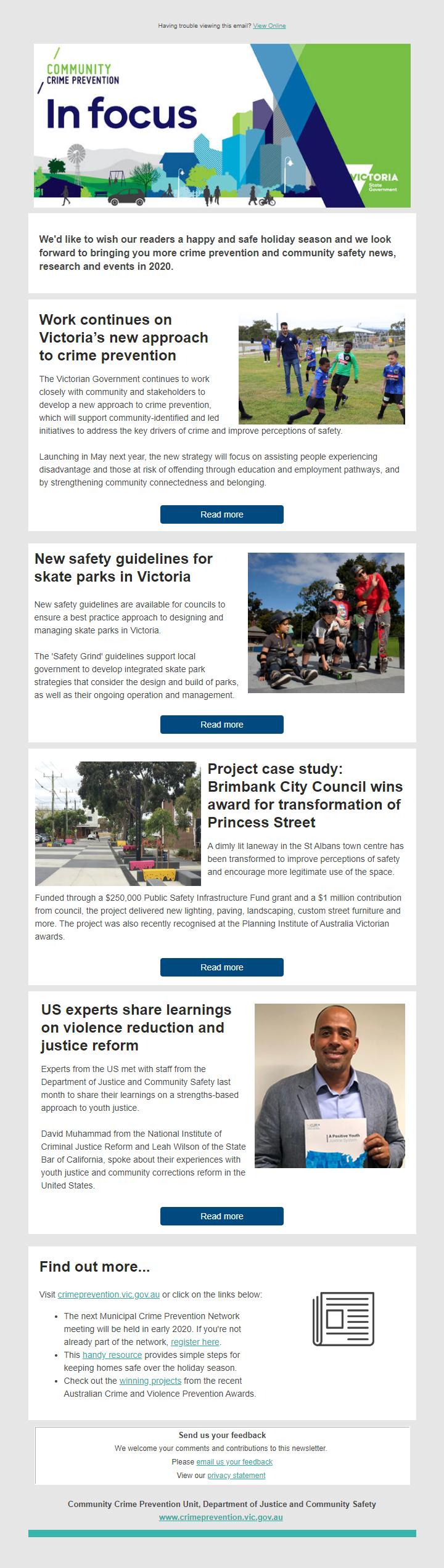 Community Crime Prevention