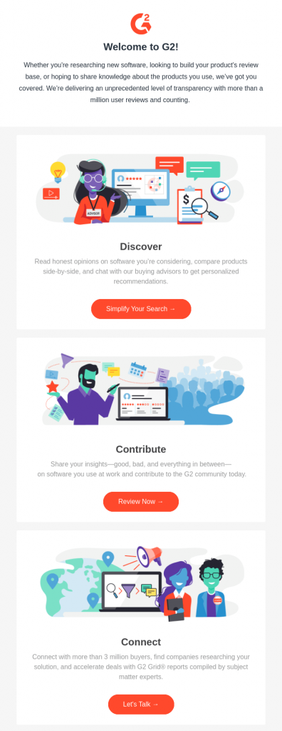 Welcome Email Marketing Campaign